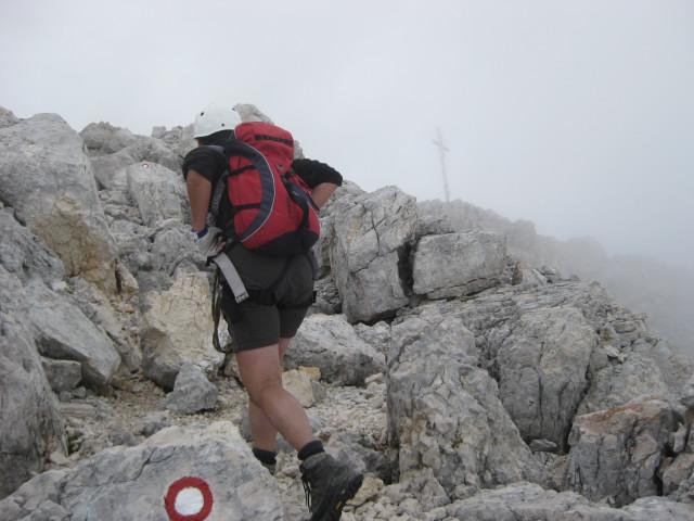Foto: Wolfgang Lauschensky / Wander Tour / Skrlatica 2740m / auf Bändern und Schrofen zum Gipfel / 20.09.2009 21:28:59