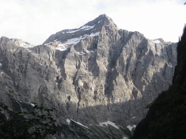 Foto: Wolfgang Lauschensky / Wander Tour / Skrlatica 2740m / Triglav-Nordwand beim Abstieg / 20.09.2009 21:28:00