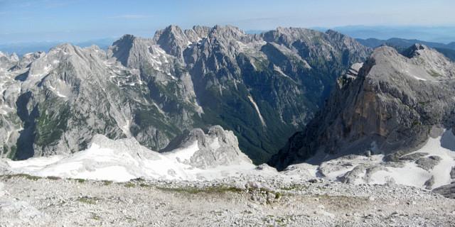 Foto: Wolfgang Lauschensky / Wander Tour / Skrlatica 2740m / Skrlatica vom Triglavski Dom / 20.09.2009 21:27:43