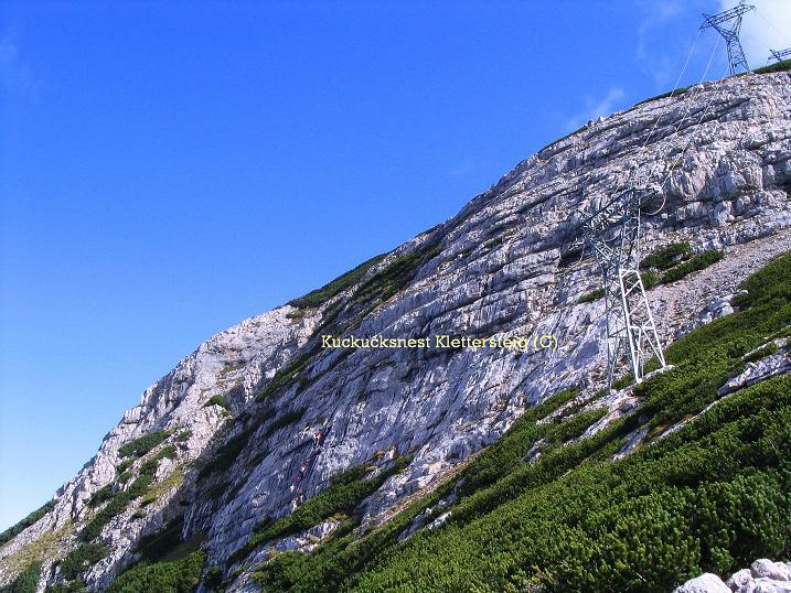 Foto: Andreas Koller / Klettersteig Tour / Kuckucksnest Klettersteig am Krippenstein (2108m) / 21.09.2009 02:02:15