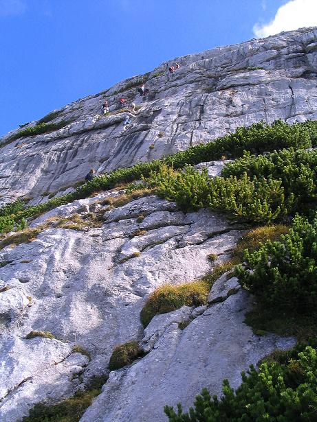 Foto: Andreas Koller / Klettersteig Tour / Kuckucksnest Klettersteig am Krippenstein (2108m) / 21.09.2009 02:01:55