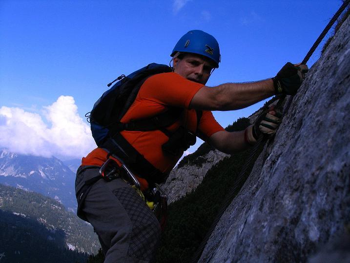Foto: Andreas Koller / Klettersteig Tour / Kuckucksnest Klettersteig am Krippenstein (2108m) / 21.09.2009 02:01:49