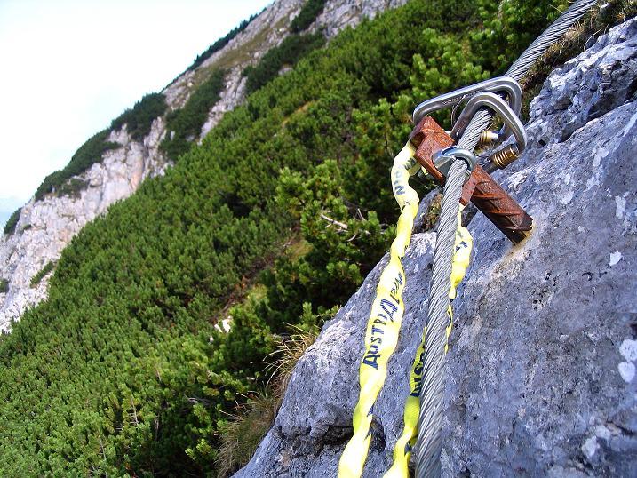 Foto: Andreas Koller / Klettersteig Tour / Kuckucksnest Klettersteig am Krippenstein (2108m) / 21.09.2009 02:01:42