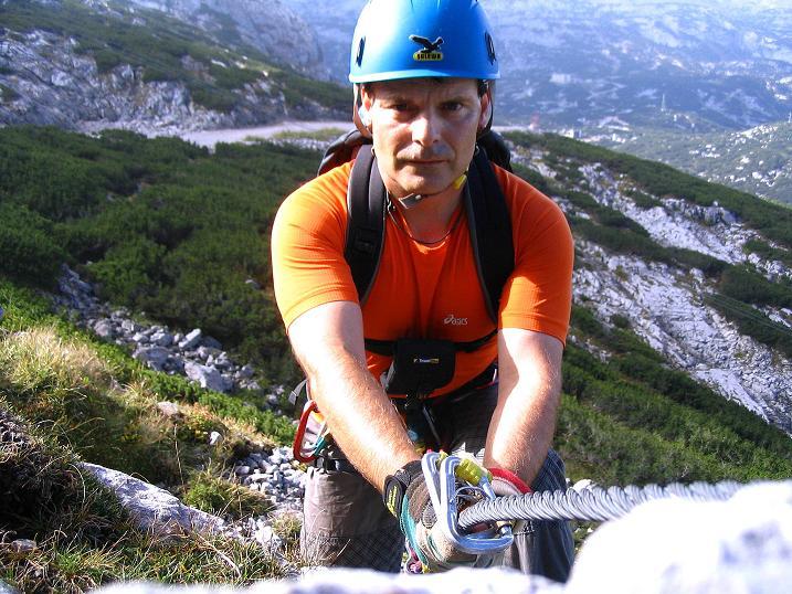 Foto: Andreas Koller / Klettersteig Tour / Kuckucksnest Klettersteig am Krippenstein (2108m) / 21.09.2009 02:01:34