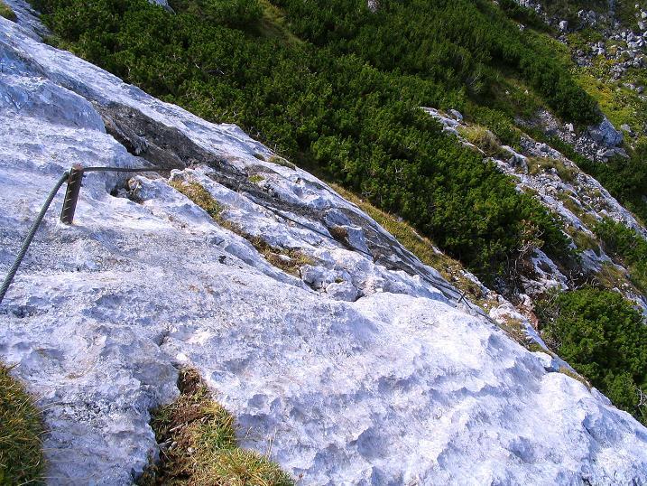 Foto: Andreas Koller / Klettersteig Tour / Kuckucksnest Klettersteig am Krippenstein (2108m) / 21.09.2009 02:01:14