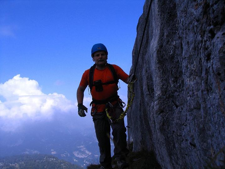 Foto: Andreas Koller / Klettersteig Tour / Kuckucksnest Klettersteig am Krippenstein (2108m) / 21.09.2009 02:00:50