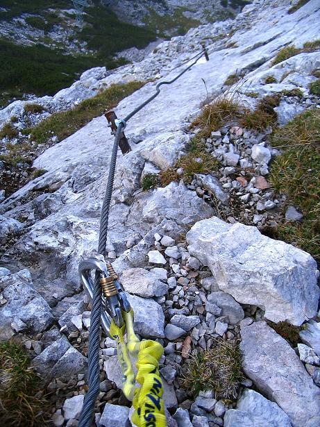 Foto: Andreas Koller / Klettersteig Tour / Kuckucksnest Klettersteig am Krippenstein (2108m) / 21.09.2009 02:00:43