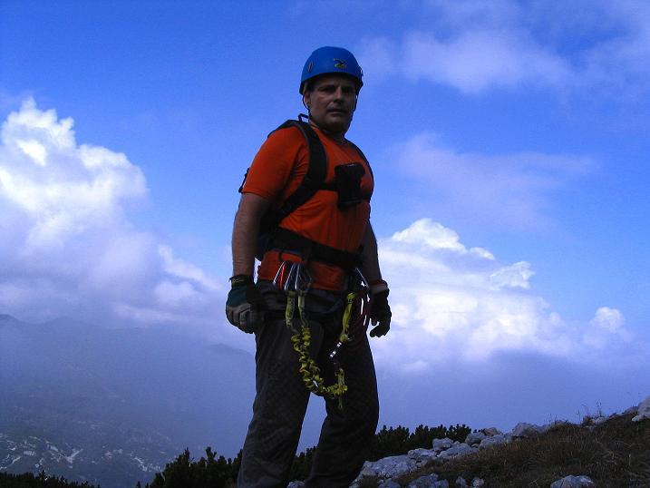 Foto: Andreas Koller / Klettersteig Tour / Kuckucksnest Klettersteig am Krippenstein (2108m) / Der Ausstieg / 21.09.2009 02:00:36