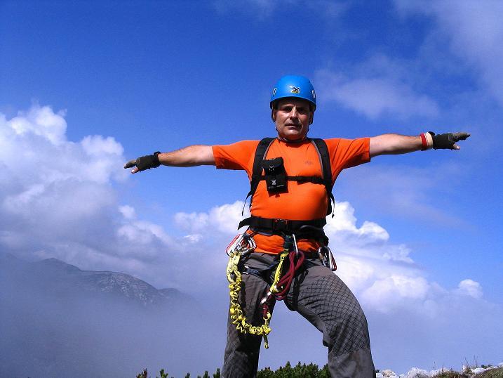 Foto: Andreas Koller / Klettersteig Tour / Kuckucksnest Klettersteig am Krippenstein (2108m) / 21.09.2009 02:00:17