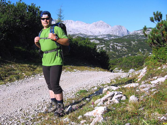 Foto: Andreas Koller / Klettersteig Tour / Monisteig am Schöberl (2426m) / 26.09.2009 00:08:37