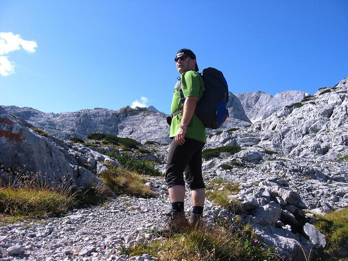 Foto: Andreas Koller / Klettersteig Tour / Monisteig am Schöberl (2426m) / 26.09.2009 00:04:09