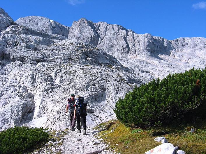 Foto: Andreas Koller / Klettersteig Tour / Monisteig am Schöberl (2426m) / 26.09.2009 00:01:58