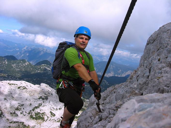 Foto: Andreas Koller / Klettersteig Tour / Monisteig am Schöberl (2426m) / 25.09.2009 23:58:28