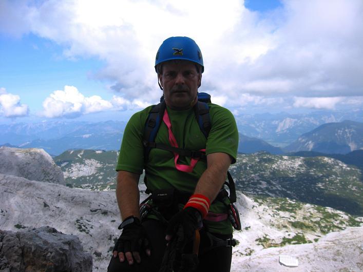 Foto: Andreas Koller / Klettersteig Tour / Monisteig am Schöberl (2426m) / 25.09.2009 23:59:04