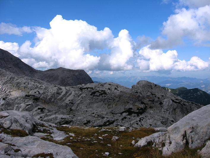 Foto: Andreas Koller / Klettersteig Tour / Monisteig am Schöberl (2426m) / Am Rückweg von der Simonyhütte zum Krippenstein / 25.09.2009 23:53:18