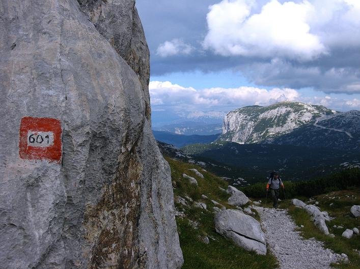 Foto: Andreas Koller / Klettersteig Tour / Monisteig am Schöberl (2426m) / 25.09.2009 23:52:12