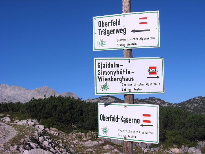 Foto: Andreas Koller / Klettersteig Tour / Via Steinbock am Schöberl (2426m) / 26.09.2009 00:30:28