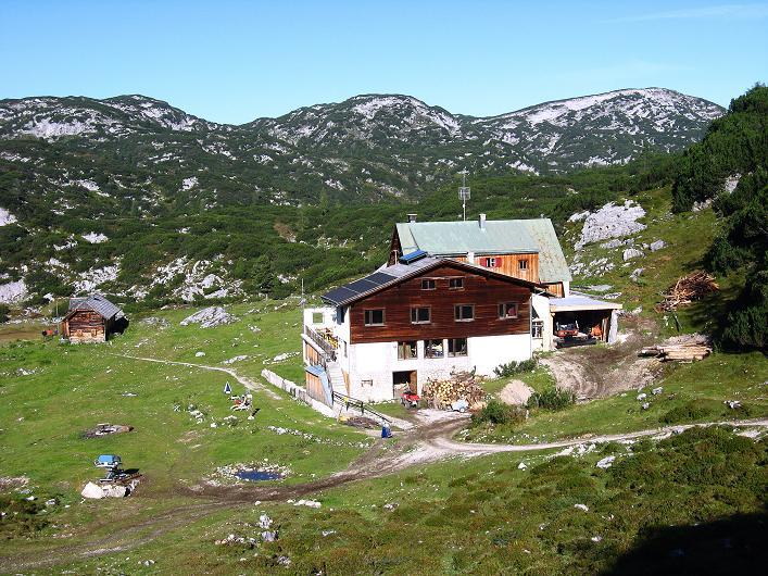 Foto: Andreas Koller / Klettersteig Tour / Via Steinbock am Schöberl (2426m) / Gjaidalm / 26.09.2009 00:30:13