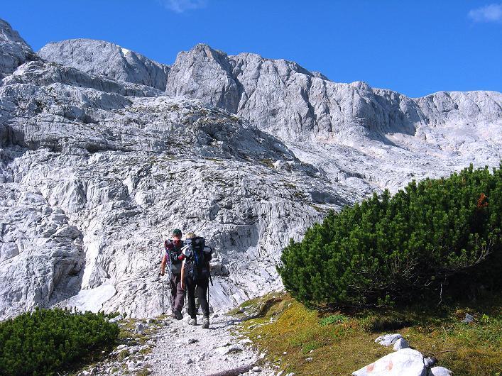 Foto: Andreas Koller / Klettersteig Tour / Via Steinbock am Schöberl (2426m) / 26.09.2009 00:23:12