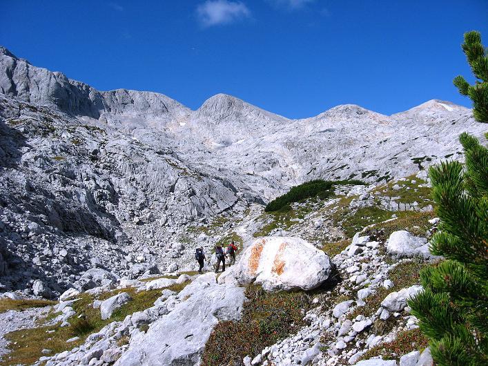Foto: Andreas Koller / Klettersteig Tour / Via Steinbock am Schöberl (2426m) / 26.09.2009 00:23:03