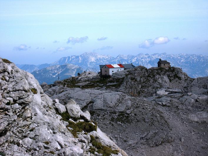 Foto: Andreas Koller / Klettersteig Tour / Via Steinbock am Schöberl (2426m) / Simonyhütte  / 26.09.2009 00:21:23