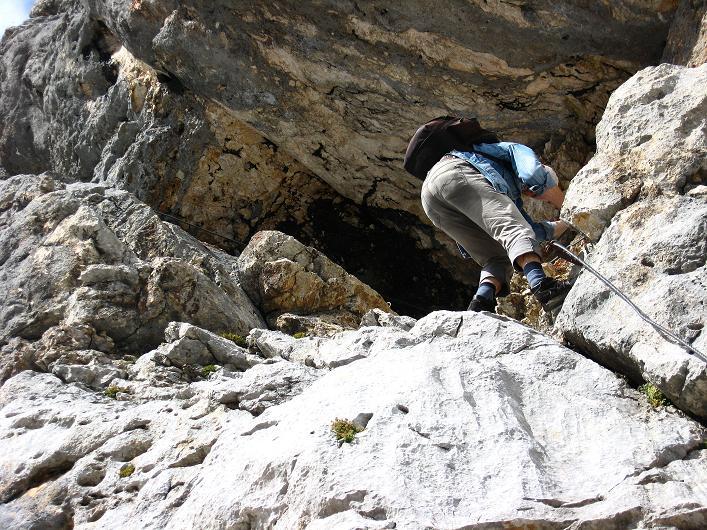 Foto: Andreas Koller / Klettersteig Tour / Via Steinbock am Schöberl (2426m) / 26.09.2009 00:19:06