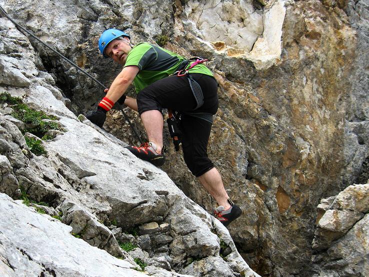 Foto: Andreas Koller / Klettersteig Tour / Via Steinbock am Schöberl (2426m) / 26.09.2009 00:18:56