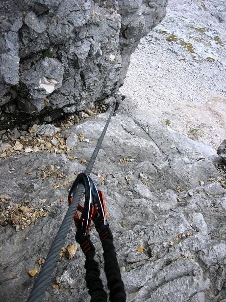 Foto: Andreas Koller / Klettersteig Tour / Via Steinbock am Schöberl (2426m) / 26.09.2009 00:18:29