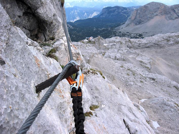 Foto: Andreas Koller / Klettersteig Tour / Via Steinbock am Schöberl (2426m) / 26.09.2009 00:18:17