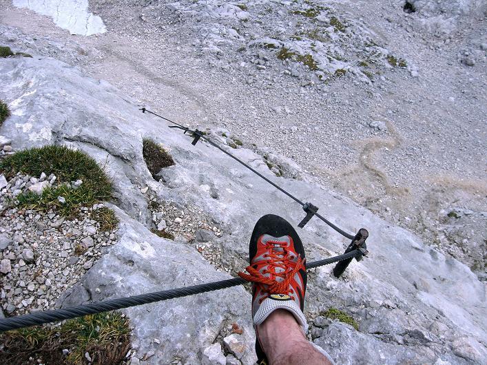 Foto: Andreas Koller / Klettersteig Tour / Via Steinbock am Schöberl (2426m) / 26.09.2009 00:18:07