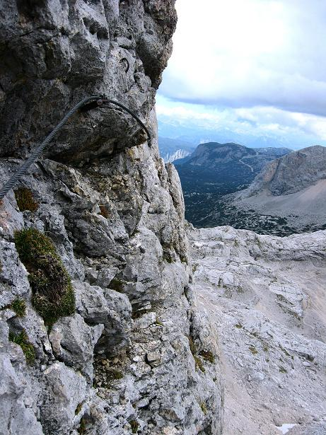 Foto: Andreas Koller / Klettersteig Tour / Via Steinbock am Schöberl (2426m) / 26.09.2009 00:17:56