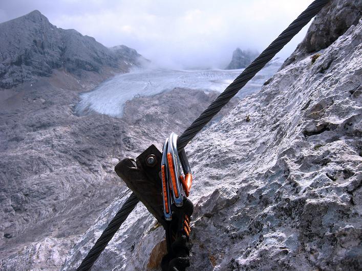 Foto: Andreas Koller / Klettersteig Tour / Via Steinbock am Schöberl (2426m) / 26.09.2009 00:16:23