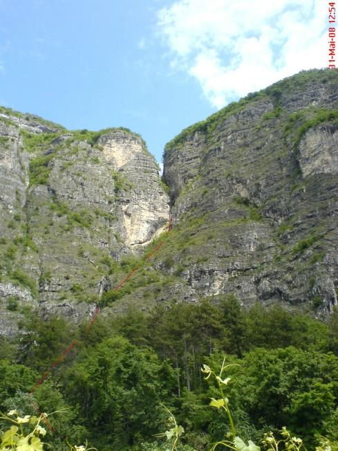 Foto: winsch / Klettersteig Tour / Via ferr. Burrone Giovanelli / Übersicht / 21.09.2009 17:44:23