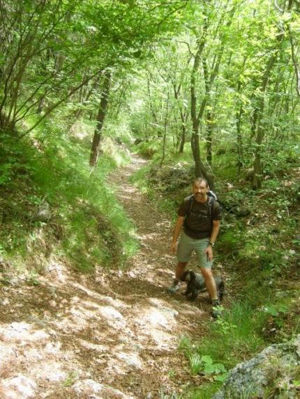 Foto: winsch / Klettersteig Tour / Fennberg Klettersteig / Abstieg vom Fennberg zum Höllental / 21.09.2009 18:30:27