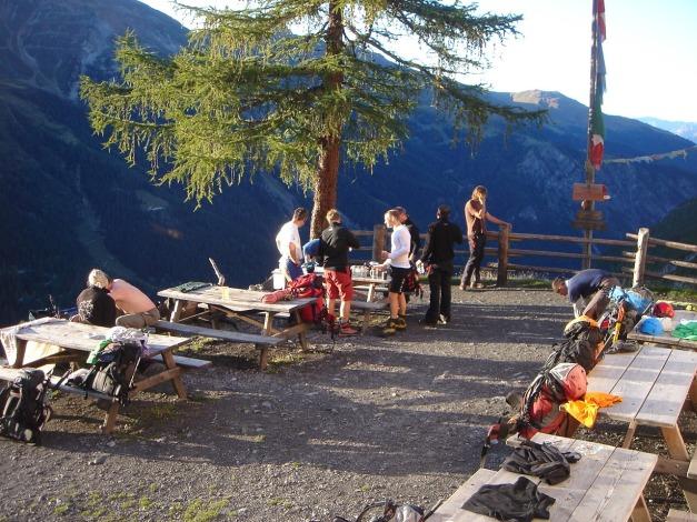 Foto: Manfred Karl / Wander Tour / Ortler über den Meranerweg / 24.09.2009 21:01:03