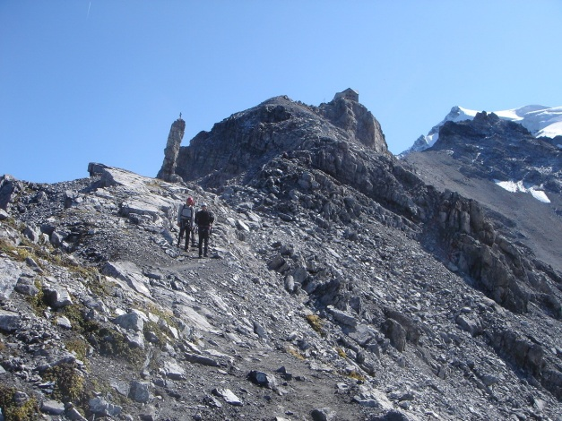 Foto: Manfred Karl / Wander Tour / Ortler über den Meranerweg / Unterhalb der Payerhütte / 24.09.2009 20:41:03