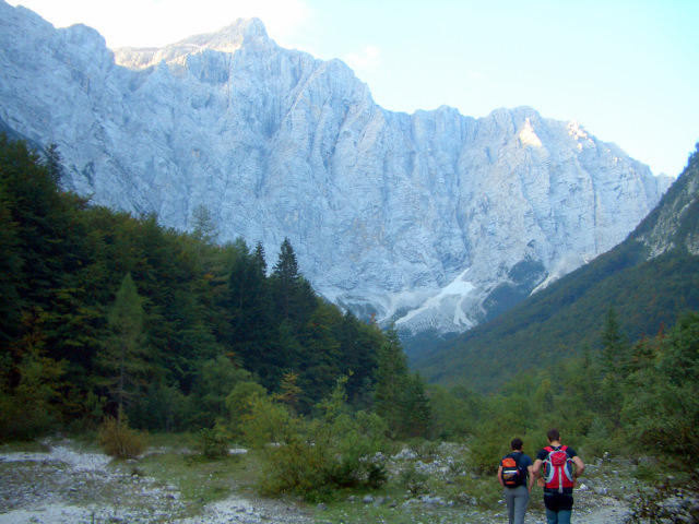 Foto: lacky / Wander Tour / Pogacnikov dom über Vrata Pass / 26.09.2009 11:35:40