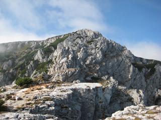 Foto: AbsolutAlpin.at / Wander Tour / Schneeberg - Rax - Überschreitung in 2 Tagen / Oberer Herminensteig / 29.09.2009 11:39:05