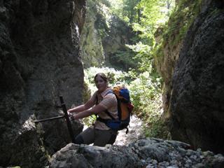 Foto: AbsolutAlpin.at / Wander Tour / Schneeberg - Rax - Überschreitung in 2 Tagen / Weichtalklamm / 29.09.2009 11:46:53