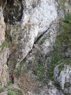 Foto: AbsolutAlpin.at / Wander Tour / Schneeberg - Rax - Überschreitung in 2 Tagen / Alpenvereinssteig (B und 1-) / 29.09.2009 11:48:49