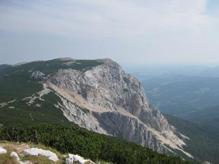 Foto: AbsolutAlpin.at / Wander Tour / Schneeberg - Rax - Überschreitung in 2 Tagen / Preinerwand / 29.09.2009 11:49:52