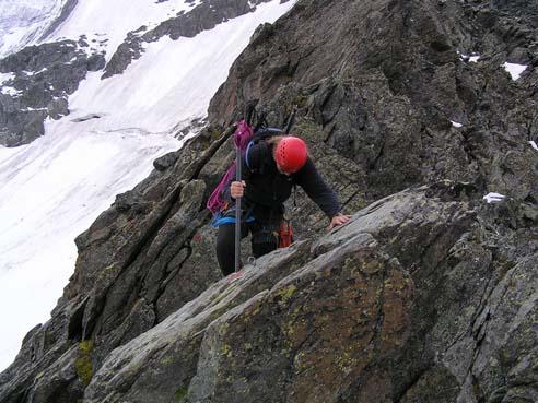 Foto: sickman2000 / Kletter Tour / Meletzkigrat / Glocknerkarkamp / 01.10.2009 10:03:28