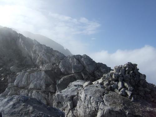 Foto: hofchri / Wander Tour / Hoher Göll (2522 m) - Runde Mannlsteig (B/C) und Schustersteig (A/B) / auf zum Hohen Göll / 01.10.2009 20:49:05