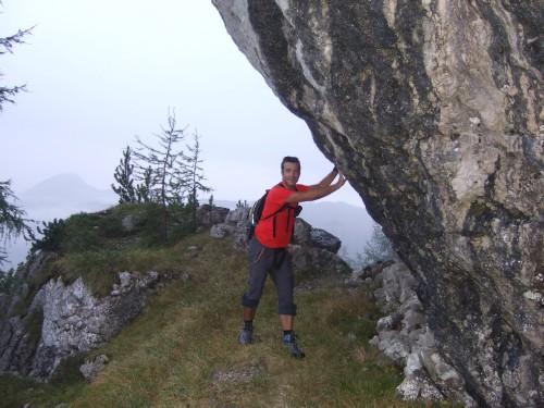 Foto: hofchri / Wander Tour / Hoher Göll (2522 m) - Runde Mannlsteig (B/C) und Schustersteig (A/B) / eine wesentliche Abkürzung und viel einsamer / 01.10.2009 20:42:23