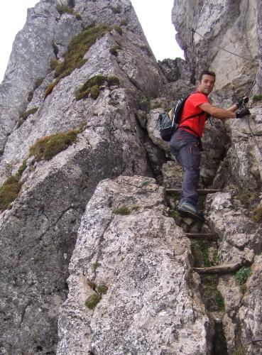 Foto: hofchri / Wander Tour / Hoher Göll (2522 m) - Runde Mannlsteig (B/C) und Schustersteig (A/B) / und hier wieder hoch / 01.10.2009 20:45:51
