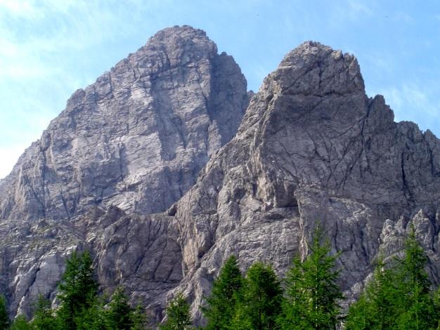 Foto: Manfred Karl / Kletter Tour / Klaus-Waldner-Gedenkweg auf den Simonskopf / Simonskopf Nordostwand und Kerschbaumer Törlspitz / 03.10.2009 13:50:39
