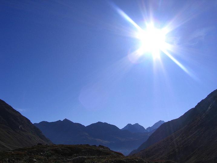 Foto: Andreas Koller / Wander Tour / Hoch über St. Moritz auf den Piz Julier (3380 m) / 07.10.2009 20:41:18