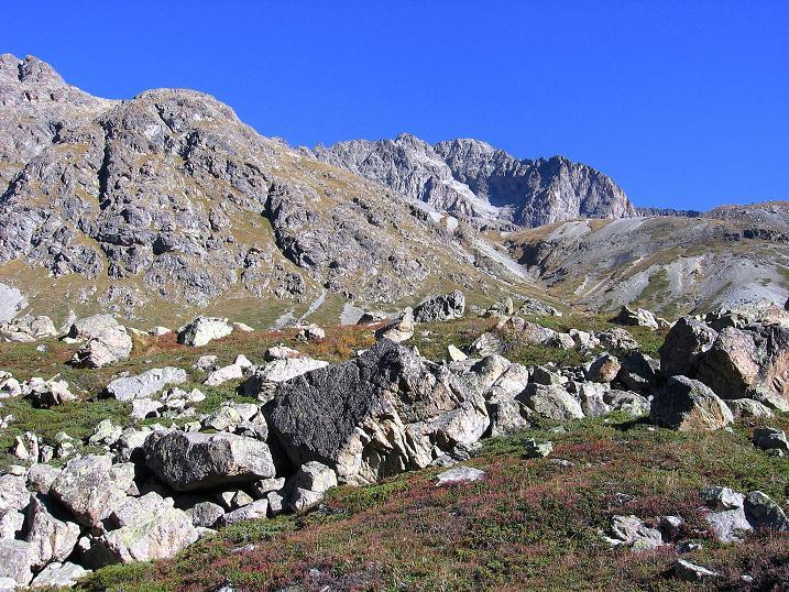 Foto: Andreas Koller / Wander Tour / Hoch über St. Moritz auf den Piz Julier (3380 m) / 07.10.2009 20:41:13