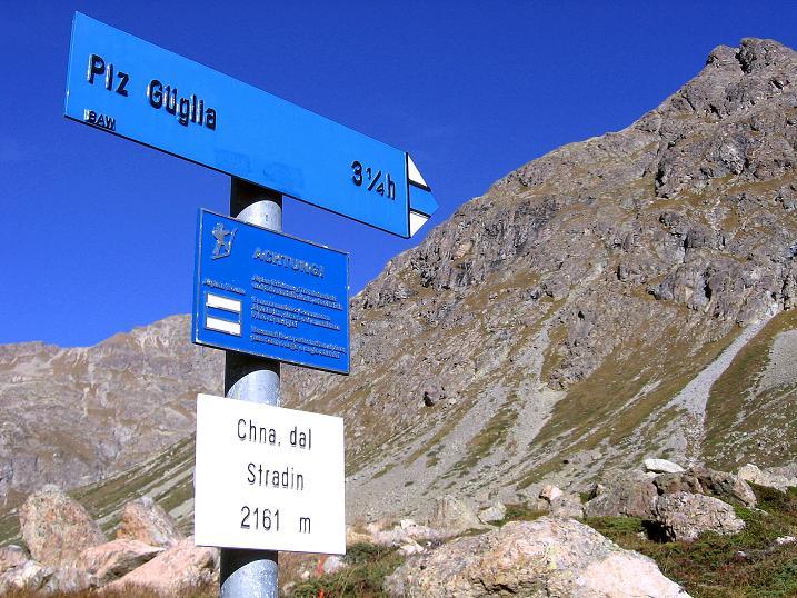 Foto: Andreas Koller / Wander Tour / Hoch über St. Moritz auf den Piz Julier (3380 m) / 07.10.2009 20:41:07
