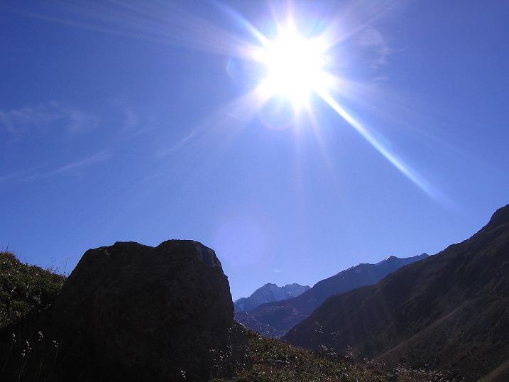 Foto: Andreas Koller / Wander Tour / Hoch über St. Moritz auf den Piz Julier (3380 m) / 07.10.2009 20:40:53